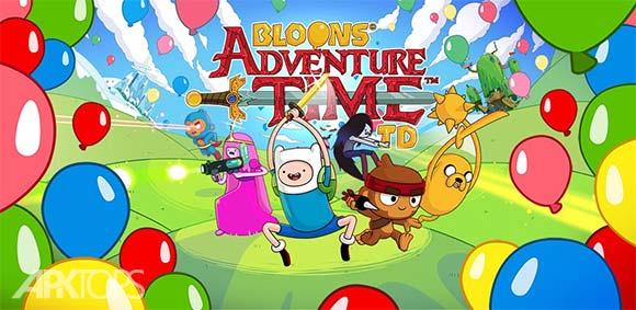 Bloons Adventure Time TD دانلود بازی زمان ماجراجویی بادکنک ها