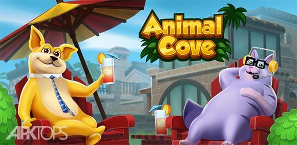 Animal Cove Solve Puzzles & Customize your Island دانلود بازی پناهگاه حیوانات حل پازل ها و ساخت جزیره