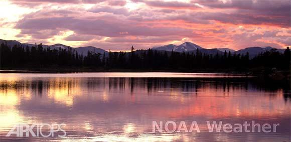 NOAA Weather Unofficial Pro دانلود برنامه وضعیت اب و هوا با اطلاعات هواشناسی سرویس جهانی