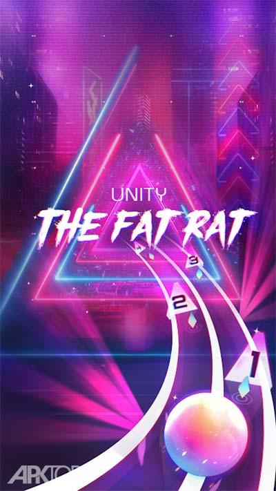 Infinity Run Rush Balls On Rhythm Roller Coaster v1.4.5 دانلود بازی دویدن بدون نهایت