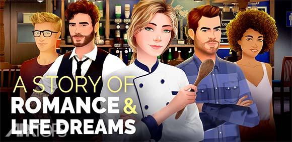 Recipe of love Interactive Story دانلود بازی دستورالعمل عشق