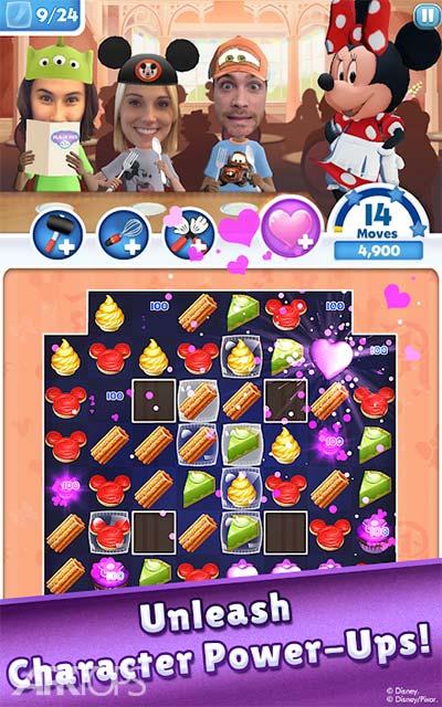 Disney Dream Treats v2.4.5 دانلود بازی جذاب مهمانی رویایی دیزنی