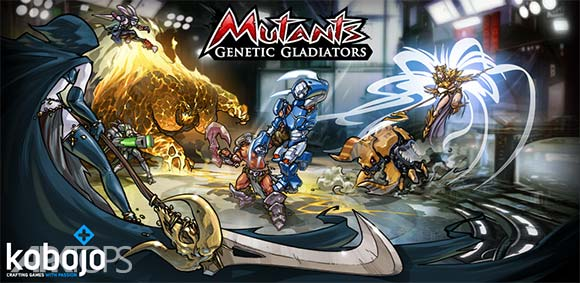 Mutants Genetic Gladiators دانلود بازی جهش ژنتیکی گلادیاتور ها