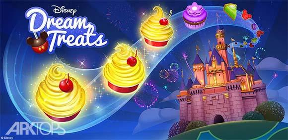 Disney Dream Treats دانلود بازی رفتار های رویایی دیزنی