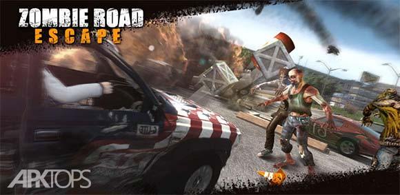 Zombie Road Escape Smash all the zombies on road دانلود بازی فرار از زامبی ها در جاده