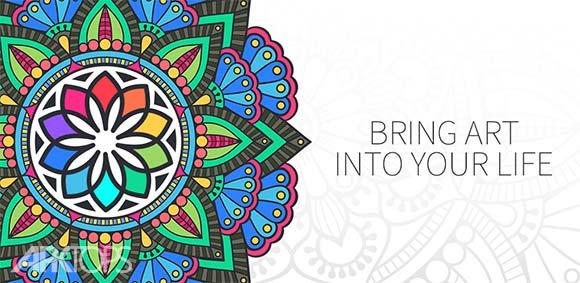 Coloring Book for Me & Mandala دانلود برنامه رنگ کردن تصاویر