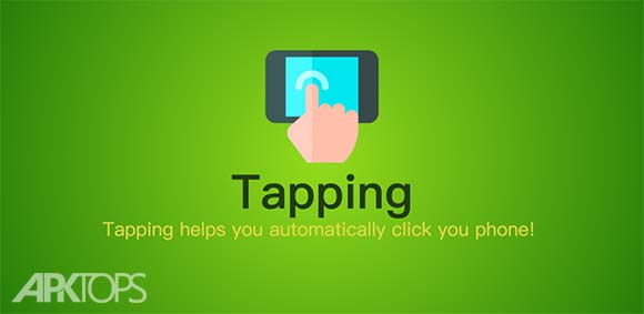 Tapping Auto Clicker دانلود برنامه لمس خودکار صفحه