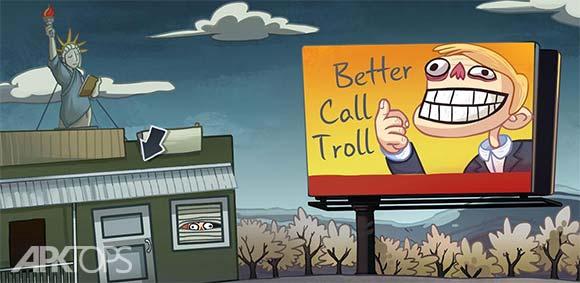 Troll Face Quest TV Shows دانلود بازی ترول فیس در جستجوی سریال های تلویزیونی