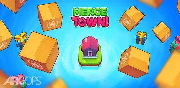 Merge Town دانلود بازی ترکیب شهر