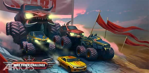 Mad Truck Hill Climb Racing دانلود بازی کامیون دیوانه