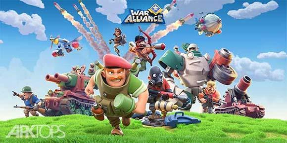 War Alliance دانلود بازی متحدان جنگی