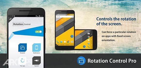 Rotation Control Pro دانلود برنامه مدیریت چرخش صفحه در برنامه ها