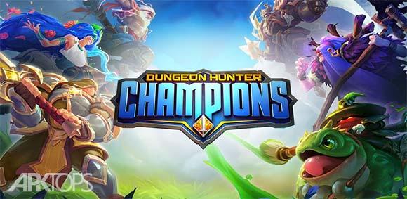 Dungeon Hunter Champions Epic Online Action RPG دانلود بازی جذاب قهرمانان شکارچی سیاهچال