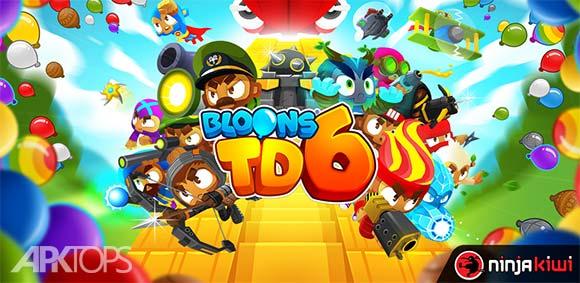 Bloons TD 6 دانلود بازی برج دفاعی بالون ها6