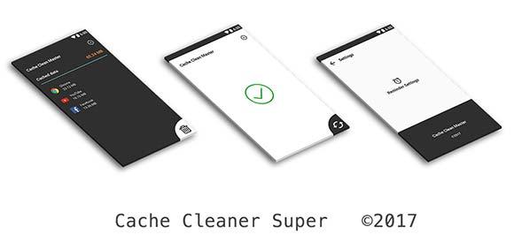 Cache Cleaner Super clear cache & optimize دانلود برنامه پاک سازی حافظه موقت