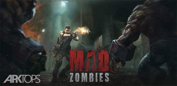 MAD ZOMBIES Offline Zombie Games دانلود بازی زامبی های دیوانه