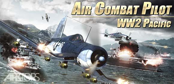 Air Combat Pilot WW2 Pacific دانلود بازی خلبان جنگ هوایی