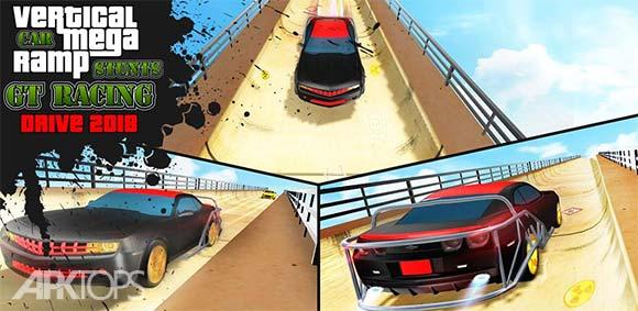 Ramp Car Stunts دانلود بازی راندن ماشین در رمپ های شیب دار