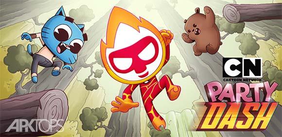 Cartoon Network Party Dash دانلود بازی مهمانی پرش شبکه ی کارتون