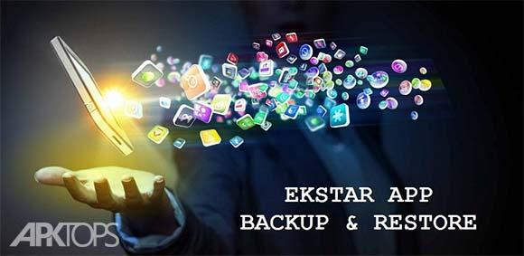 Ekstar App Backup & Restore دانلود برنامه گرفتن پشتیبان از برنامه ها و بازگردانی