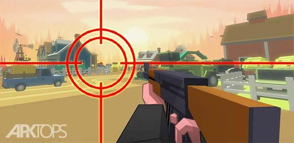 Cube Zombie Hunter دانلود بازی شکارچی زامبی ها مکعبی