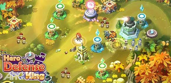 Hero Defense King دانلود بازی پادشاه دفاع قهرمانانه