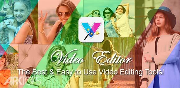 Video Editor Free Trim Music دانلود برنامه ویرایش و برش فیلم و ویدئو