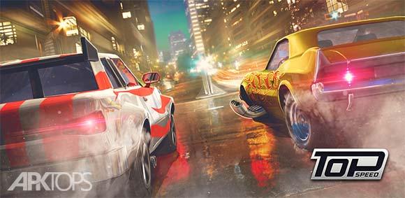 Top Speed Drag & Fast Racing دانلود بازی نهایت سرعت مسابقات سریع