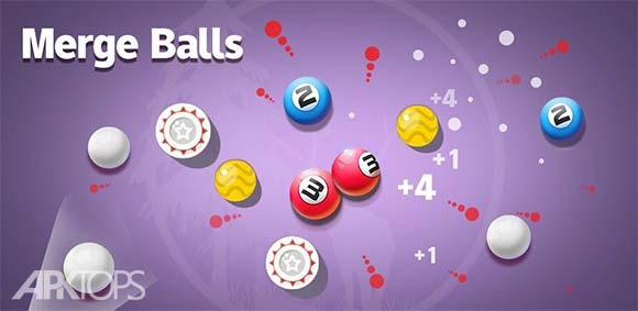 Merge Balls دانلود بازی ترکیب توپ ها
