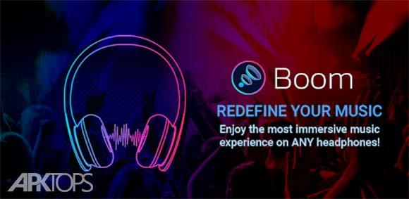 Boom Music Player with 3D Surround Sound and EQ دانلود برنامه پخش موسیقی بوم با امکان پخش سه بعدی