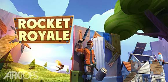 Rocket Royale دانلود بازی موشک رویال