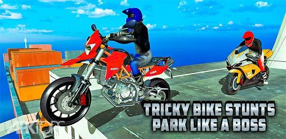 Tricky Bike Stunts Park Like a Boss دانلود بازی موتور سواری ماهرانه