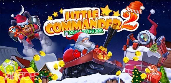 Little Commander 2 Xmas دانلود بازی فرمانده کوچک2 کریسمس