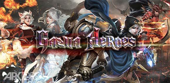 Gazua Heroes Saga Online Idle RPG Game دانلود بازی حماسه قهرمانان گازوا