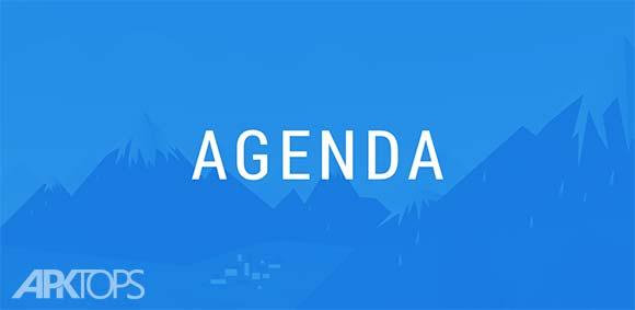 Calendar Widget Agenda Beautiful & Customizable دانلود برنامه ویدجت زیبا و قابل تنظیم رویداد های تقویم