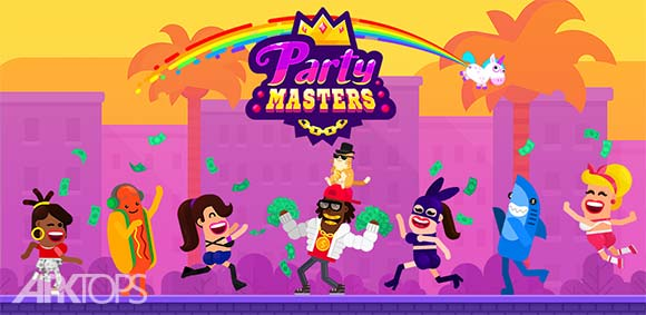 Partymasters Fun Idle Game دانلود بازی صاحبان مهمانی