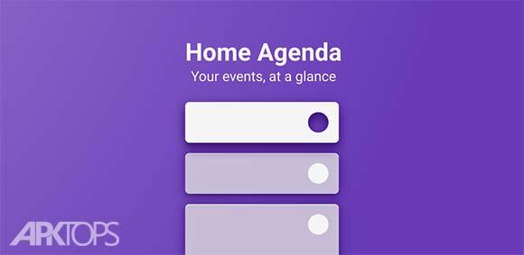 Calendar Widget by Home Agenda دانلود برنامه ویدجت تقویم