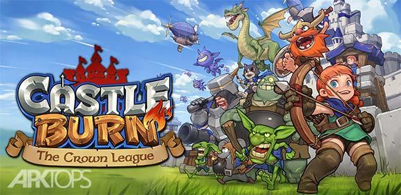 Castle Burn RTS Revolution دانلود بازی سوزاندن قلعه