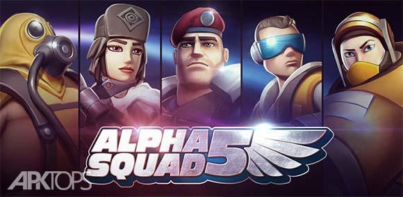 Alpha Squad 5 RPG & PvP Online Battle Arena دانلود بازی جوخه 5 الفا