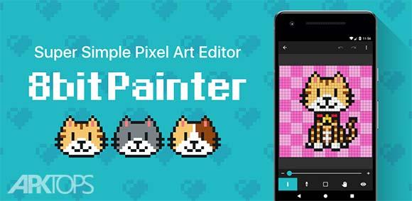 8bit Painter دانلود برنامه نقاشی هشت بیتی