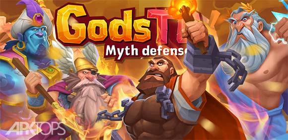 Gods TD: Myth defense دانلود بازی برج دفاعی خدایان