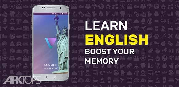 Learn English Vocabulary دانلود برنامه یادگیری لغات زبان انگلیسی