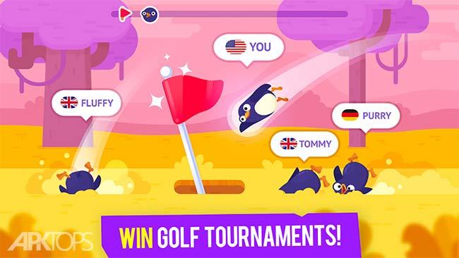 Golfmasters – Fun Golf Game v1.1.1 دانلود بازی جذاب قهرمانان گلف