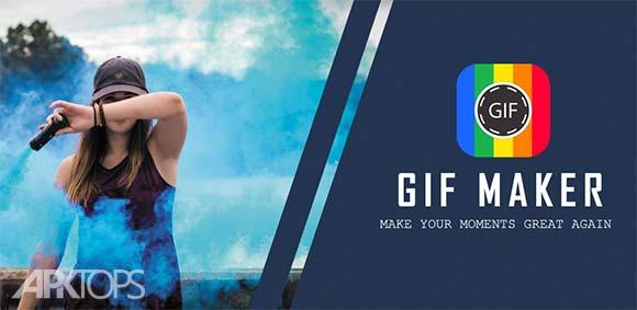 GIF Maker - Video to GIF, GIF Editor دانلود برنامه ساخت و ویرایش گیف