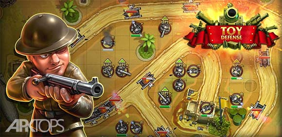 Toy Defense - TD Strategy دانلود بازی دفاع اسباب بازی ها