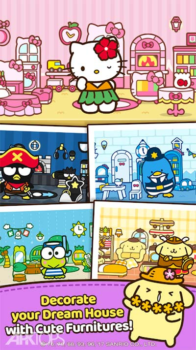 Hello kitty Friends – Tap && Pop, Adorable Puzzles v1.3.45 دانلود بازی جذاب سلام دوستان کیتی