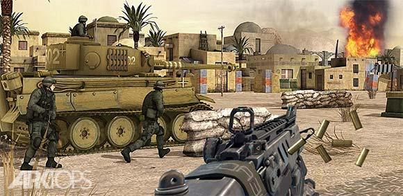 World War in Pacific: FPS Shooting Game Survival دانلود بازی جنگ جهانی در اقیانوس ارام