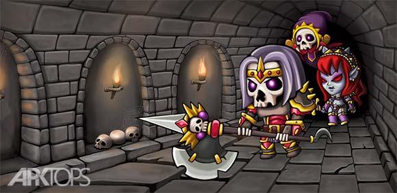 Dungeon Knights دانلود بازی شوالیه های سیاهچال
