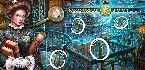 The Paranormal Society: Hidden Object Adventure دانلود بازی انجمن حوادث غیر طبیعی