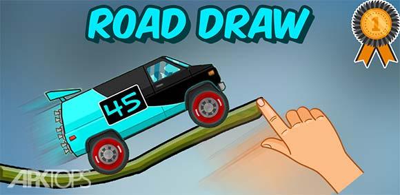Road Draw: Climb Your Own Hills دانلود بازی کشیدن جاده